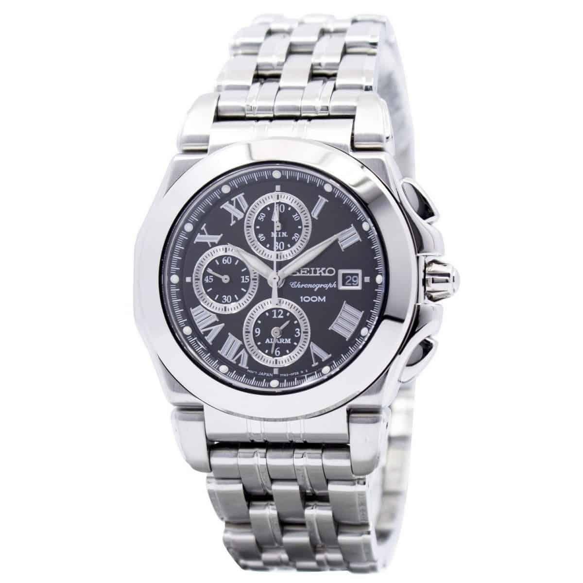 3fc1b2049f9 Analog watch for men with leather strap Hugo Boss Orange
