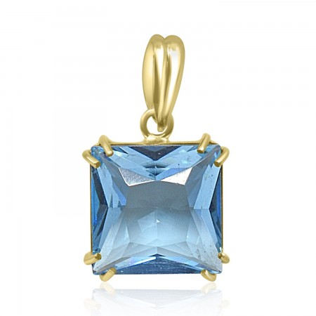 Princess cut Aquamarine...