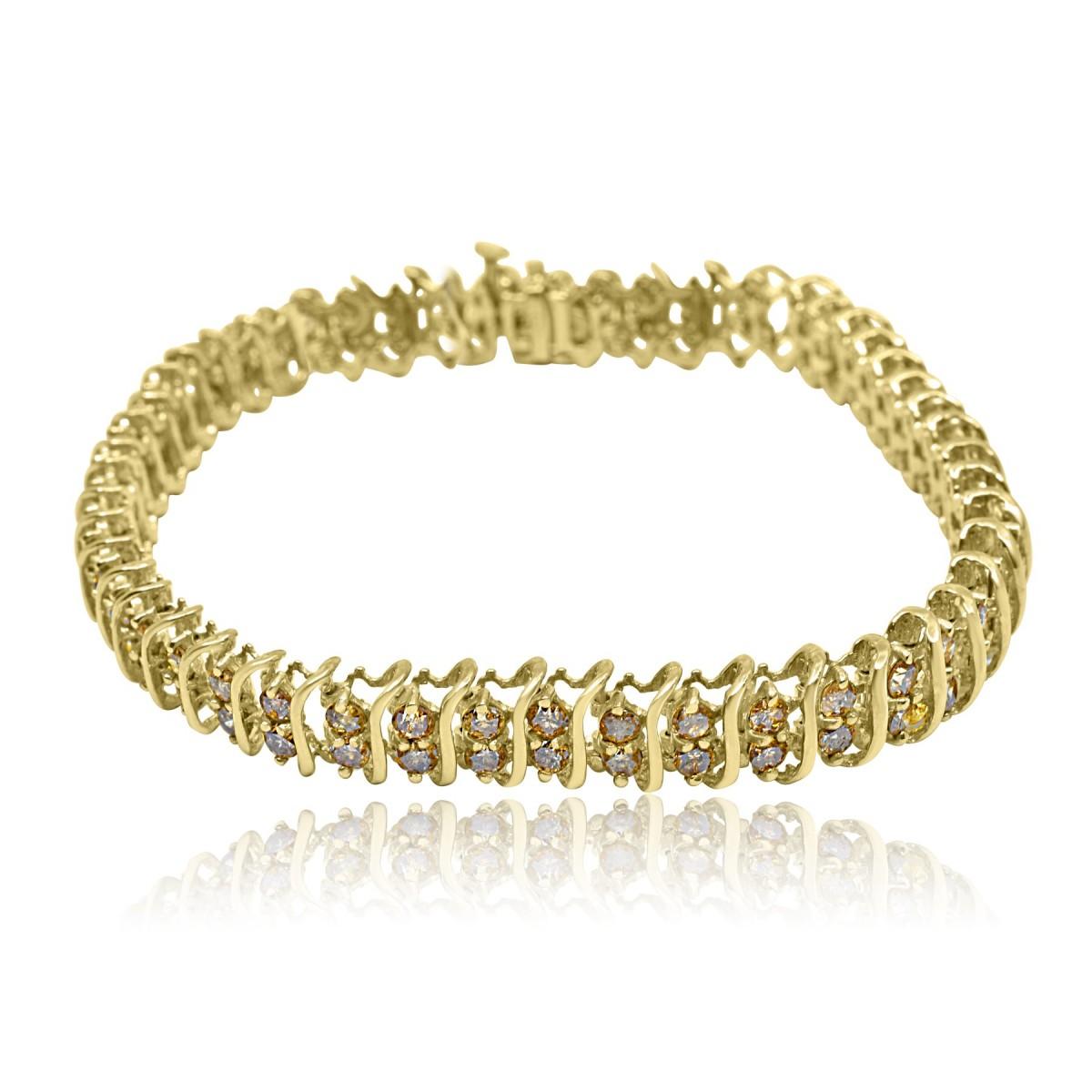 5 00 Carat Diamond Tennis Bracelet In