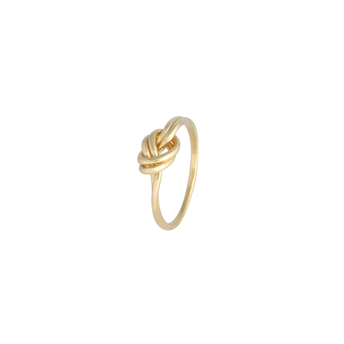18k Yellow Gold Knot Ring Rings Temptation Jewellery