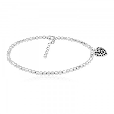 Ball Link Bracelet with...