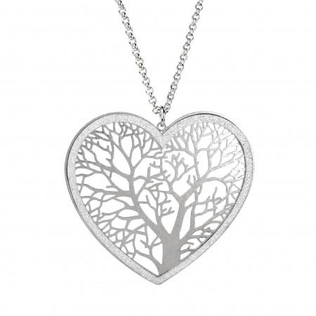 Heart Tree Pendant.