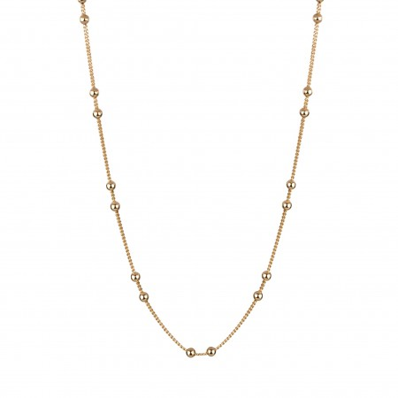 Gold Balls Necklace.