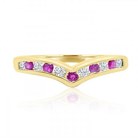 Ruby and Diamond Wishbone...