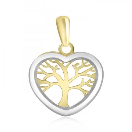 Tree of Life Heart Pendant.