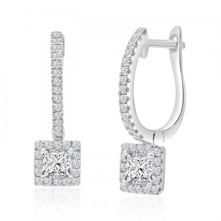 0.73 Carat Diamond Dangle...