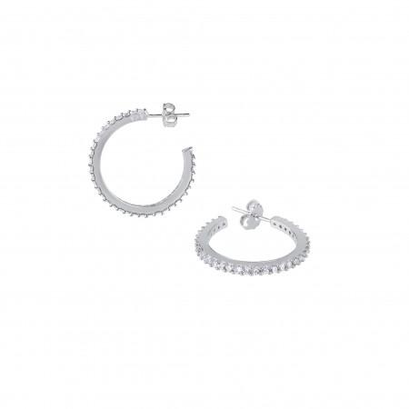 15mm Hoop Earrings - Vidal...
