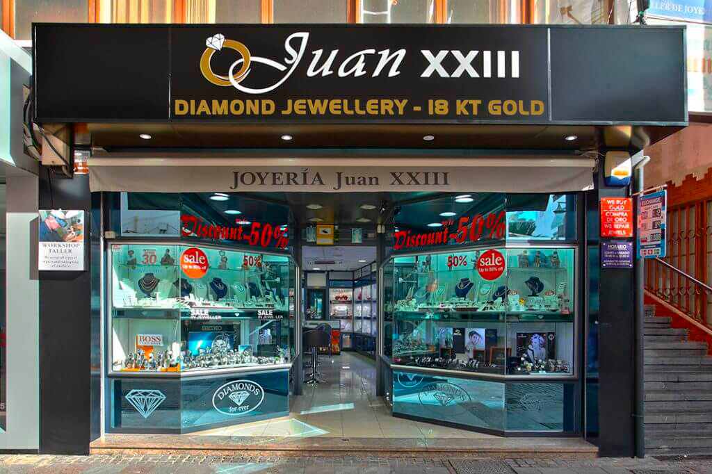 Juan XXIII Jewellery - Phone: 922796983